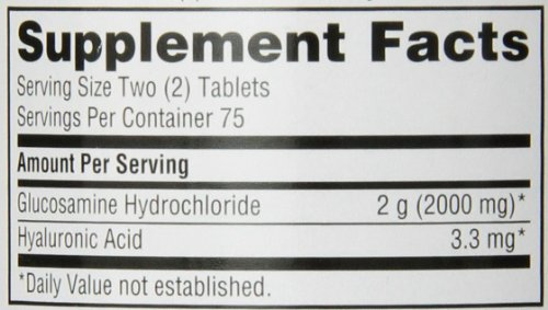 020525121905 - Schiff Glucosamine 2000mg with Hyaluronic Acid Joint Supplement, 150 ct carousel main 1