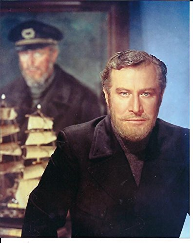 The Ghost & Mrs. Muir Edward Mulhare as Capt. Daniel Gregg Standing in Front of Portrait 8x10 Photo #2 - Portrait Standing