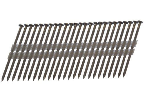(Spot Nails Spot Nails 2-12D120SSR 3-1/4-inch by .120-inch 20-22 Degree Plastic Strip 304 Stainless Steel Nails 1,000 per Box)