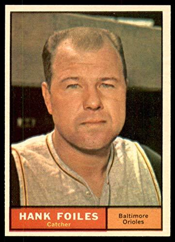 (1961 Topps #277 Hank Foiles NM-Mint Orioles)