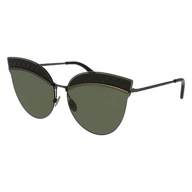 25064b44caa37 Sunglasses Bottega Veneta BV 0101 S- 001 001 BLACK   GREY   RUTHENIUM