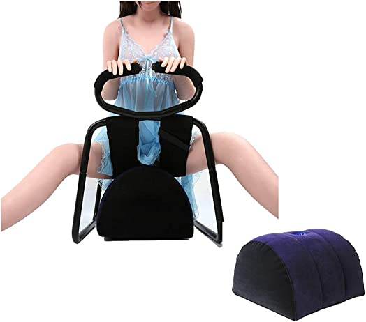KimBird Jubilee Chair SM Sexy Toy,Multifunctional Bounce Elasticity Pillow Stool with Air Cushion,Fun Surprising Different Positions to Relaxed Body for Women,Couple Detachable Stretch Chair US Stock