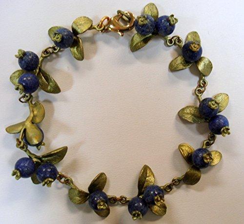 BLUEBERRY BLUE LAPIS BRACELET BY MICHAEL MICHAUD for SILVER SESONS