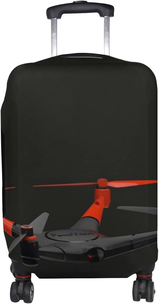 LEISISI Black UAV Drone Luggage Cover Elastic Protector Fits XL 29-32 in Suitcase