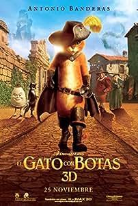 El Gato Con Botas (Blu-Ray Combo Y Copia Digital) [Blu-ray]