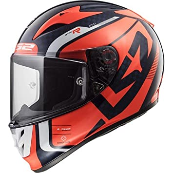 Casco integral LS2 FF323 ARROW C EVO STING (XS, ROJO)