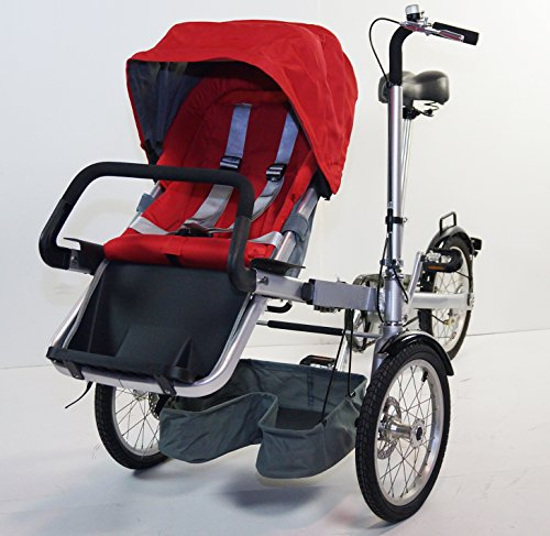 3 In 1 Stroller Tricycle - 5