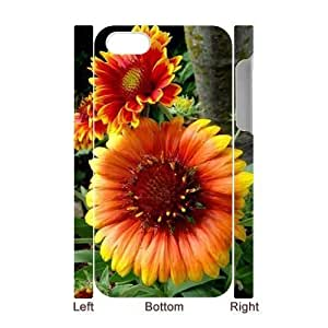 Sunflower CUSTOM 3D Cover Case for iPhone 4,4S LMc-11311 at WANGJIANG LIMING by patoner