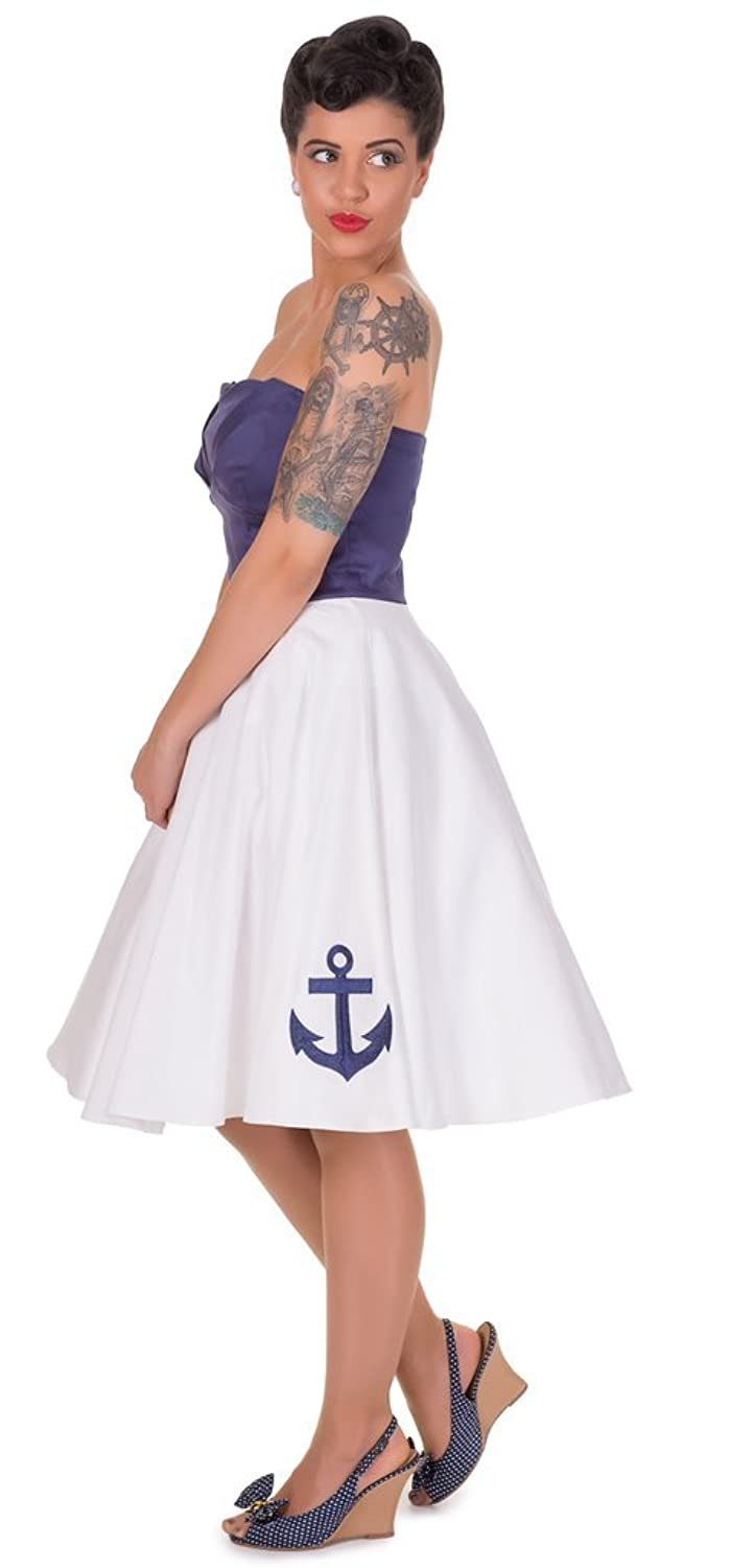 Dolly and Dotty™ \'Melissa\' Schulterfrei Vintage Cocktail Kleid ...