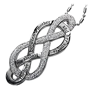 r h jewelry mother and son love infinity