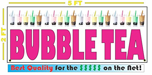 Bubble Tea Poster - Bubble Tea Banner Sign