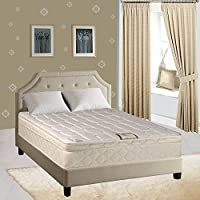 Spring Coil Mattress, 9 Pillow top Fully Assembled Orthopedic Twin Mattress, Royal Collection