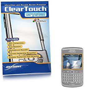 BoxWave BlackBerry Bold 9700 ClearTouch Crystal Screen Protector (Single Pack) - Crystal Clear Clarity, Invisible Screen Guard Cover