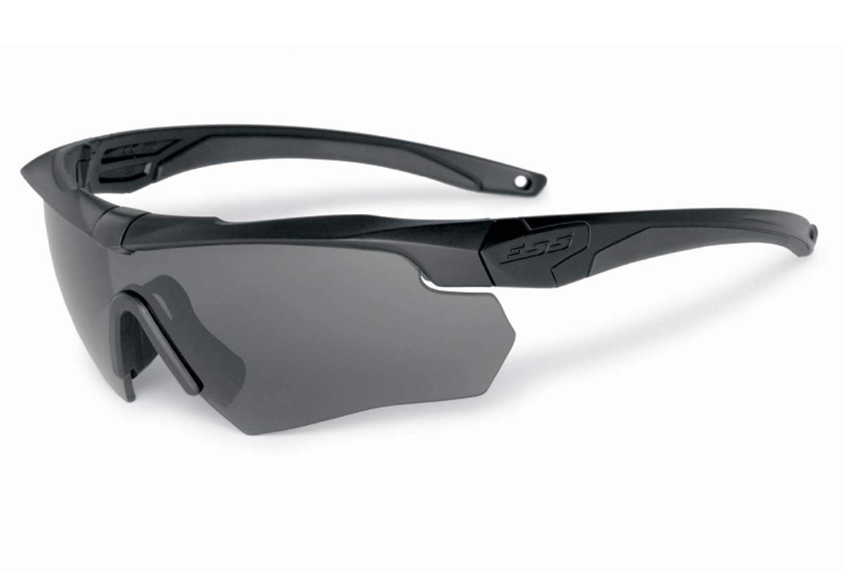 Ess Gray Safety Glasses, Scratch-Resistant, Wraparound by Ess (Image #1)