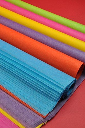 Tissue Paper Bulk Colored Big Size 40 X 30 Gift Wrap Rainbow