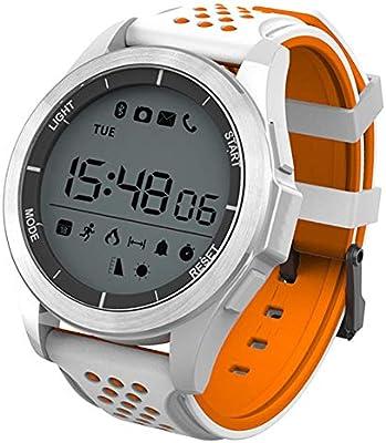 GBVFCDRT Deportes, Reloj Inteligente, Hombres, Mujeres, Gimnasio, Impermeable, podómetro, natación, Hombre Corriente, Reloj Digital, para Android iOS, Reloj ...