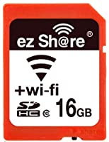 Wifi Sd Memory Card 16GB Class 10 New New Inc+é 2nd Generation Ez Share