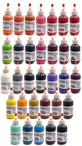 StarBrite Tattoo Ink 32 Color Set (1oz.) -  ASINPPOTLMCM17083