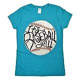 Tees2urdoor It's Baseball Y'all Glitter Ladies Fit T-Shirt - AS