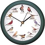 Mark Feldstein and Associates DLB9821E Original Singing Bird Clock 8 in Green
