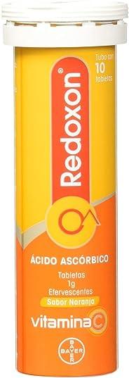 Redoxon Comprimidos Efervescentes Naranja, 1 g, 10 Piezas