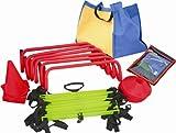 Cintz Premium Pack - Speed ladder, speed hurdles,cones, chute and free bag