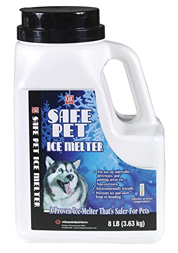 Milazzo Melter Ice (Milazzo Industries 02008 Qik Joe Safe Pet Ice Melter, 8-Pound)