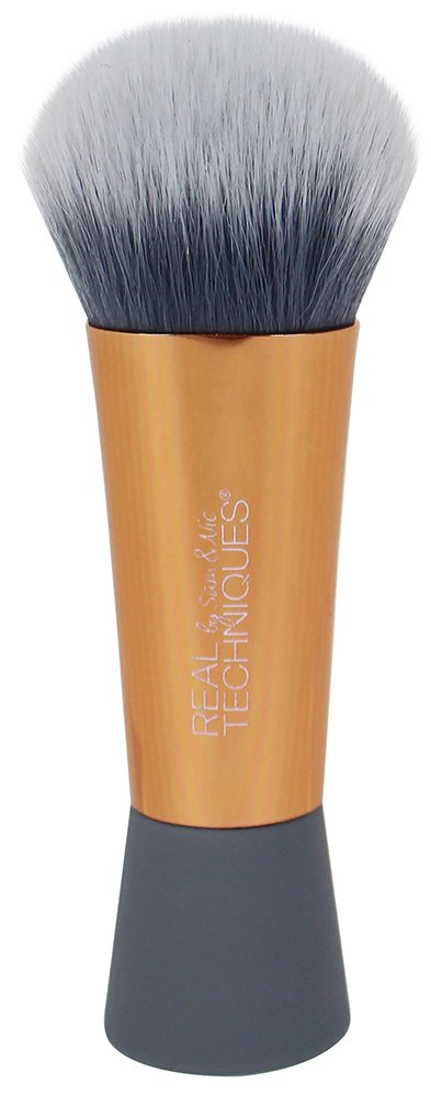 REAL TECHNIQUES Mini Medium Expert Face Brush Ornament Paris Presents Incorporated