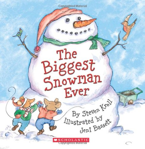 The Biggest Snowman Ever - Audio by Scholastic Audio Books