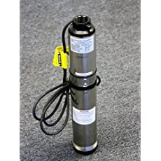 Deep Well Submersible Pump, 1/2hp, 220v, 25 Gpm, 150 Feet, Stainless Steel, Long Life
