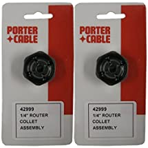 PORTER-CABLE (2 Pack) 42999 1/4-Inch Self Releasing Collet