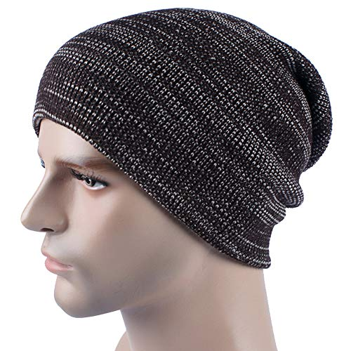 Beanie Hombres Knitting Warm IRONLAND Cap para y Skull Winter 1 Mujeres Lana Hats SwOnHTAq