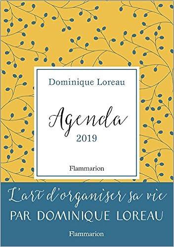 Agenda 2019 - L'art d'organiser sa vie