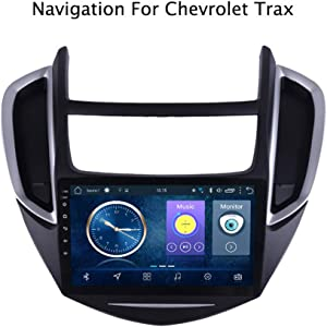Foof Car DVD Player GPS Navigation Stereo in Dash Radio for Chevrolet Trax 2014-2017 Screen 16/32GB ROM Bluetooth Radio Stereo GPS Navigation DVD Player (Quad CORE)
