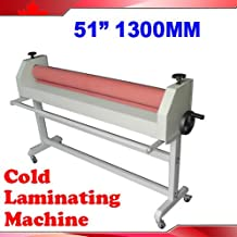 51In 1300MM Stand Large Soft Rubber Roll Cold Laminating Machine(Item #026041)