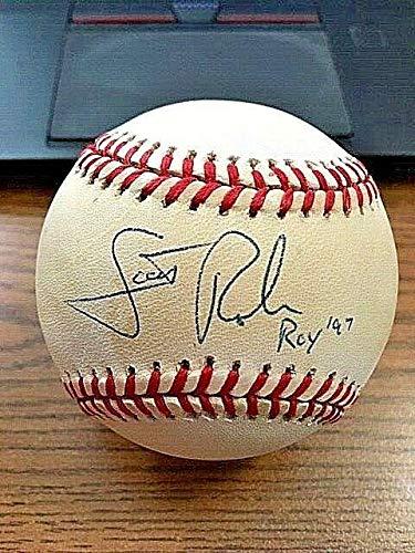 - Scott Rolen Signed Baseball - 5 ONL ! Phillies ! ROY 97 - JSA Certified - Autographed Baseballs