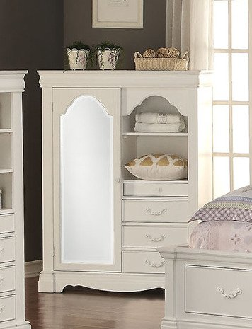 Acme Furniture Estrella 39158 Armoire, White