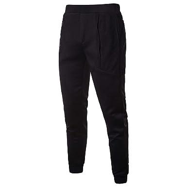 Mens Joggers Casual Pants Fitness Men Sportswear Tracksuit Bottoms Skinny Sweatpants Trousers Black Gyms Jogger Track Pants Sweatpants