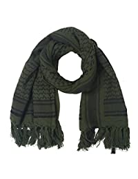 TOPINCN Scarf Head Neck Scarf Cotton Soft Wind Proof Dust Proof