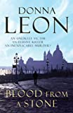 Front cover for the book Blood from a Stone by Donna Leon
