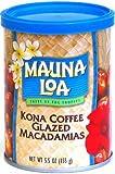 Mauna Loa Kona Coffee Glazed Macadamia Nuts, 5.5-Ounce Can (Pack Of 3)