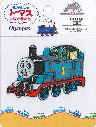 Orimupasu Thomas the Tank Engine badge Thomas C89 (Badge Thomas Tank)