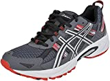 ASICS Men's Gel-Venture 5 Running Shoe (8 D(M) US, Castle Rock/Silver/Fiery Red)