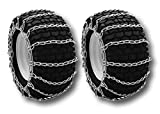 2-Link Tire Chains 26x12x12 Fit John Deere 430 445 455 Tractor