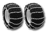 MowerPartsGroup Tire Chains 2-Link Fit John Deere 210 212 214 216 300 312 316 317 318 322 332