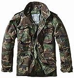 Brandit Men's M-65 Classic Jacket Woodland Size L