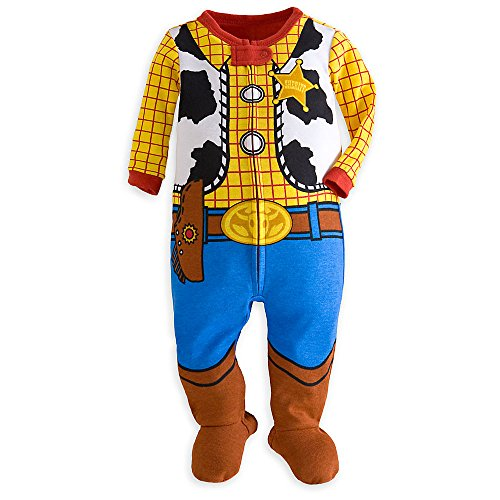 10 Month Old Boy Halloween Costume (Disney Woody Stretchie for Baby - Toy Story Size 9-12)
