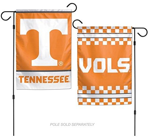 Wincraft NCAA University Tennessee Volunteers 12x18 Inch 2-Sided Outdoor Garden Flag