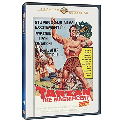 Tarzan The Magnificent by Gordon Scott: Amazon.es: Gordon ...