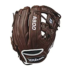 "The new 11.5"" Wilson A900 Pedroia fit glove is made for the young, advanced ballplayers looking to get an edge. This WTA09RB18115PF comes with Pedroia fit, which provides a more snug feel for players with younger hands. Wilson A900 gloves are..."
